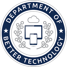 Department of Better Technology company's logo