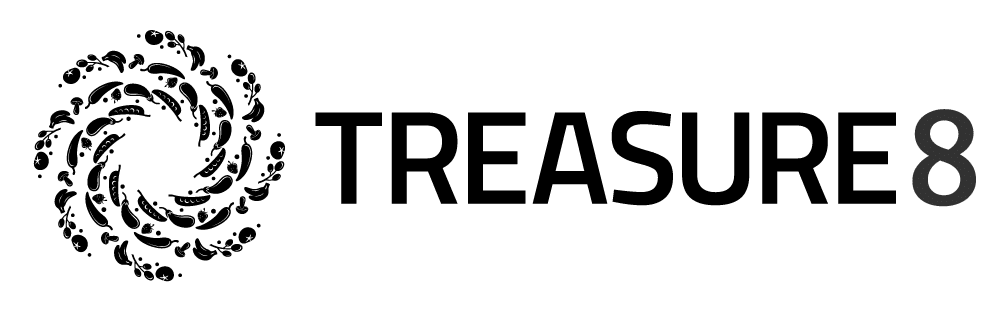 Treasure8 company's logo